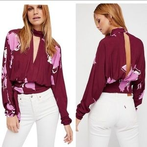 free people • say you love me floral blouse
